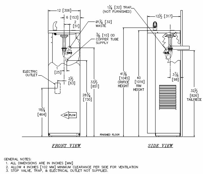 gentworks water coolers: compact floor standing - granite ... water cooler wiring diagram water cooler diagram