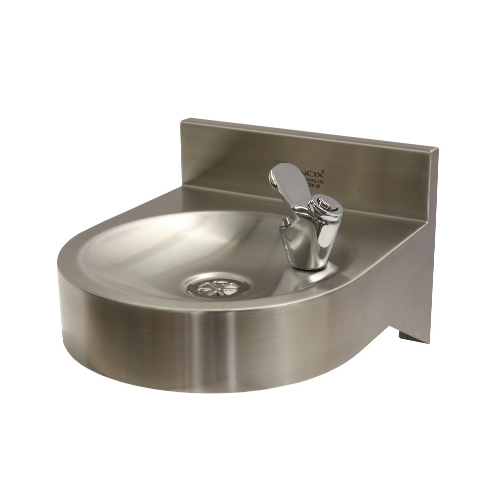 Gentworks drinking fountains wall mounted drinking fountain for Wall water fountain