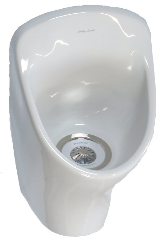 Aridian Waterless Urinal Bowl With Gw6 Gentworks