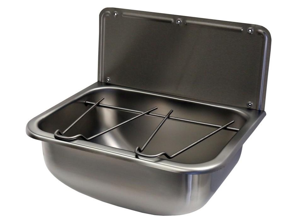 Gentworks stainless steel bucket sink 455x340mm for Metal bucket sink
