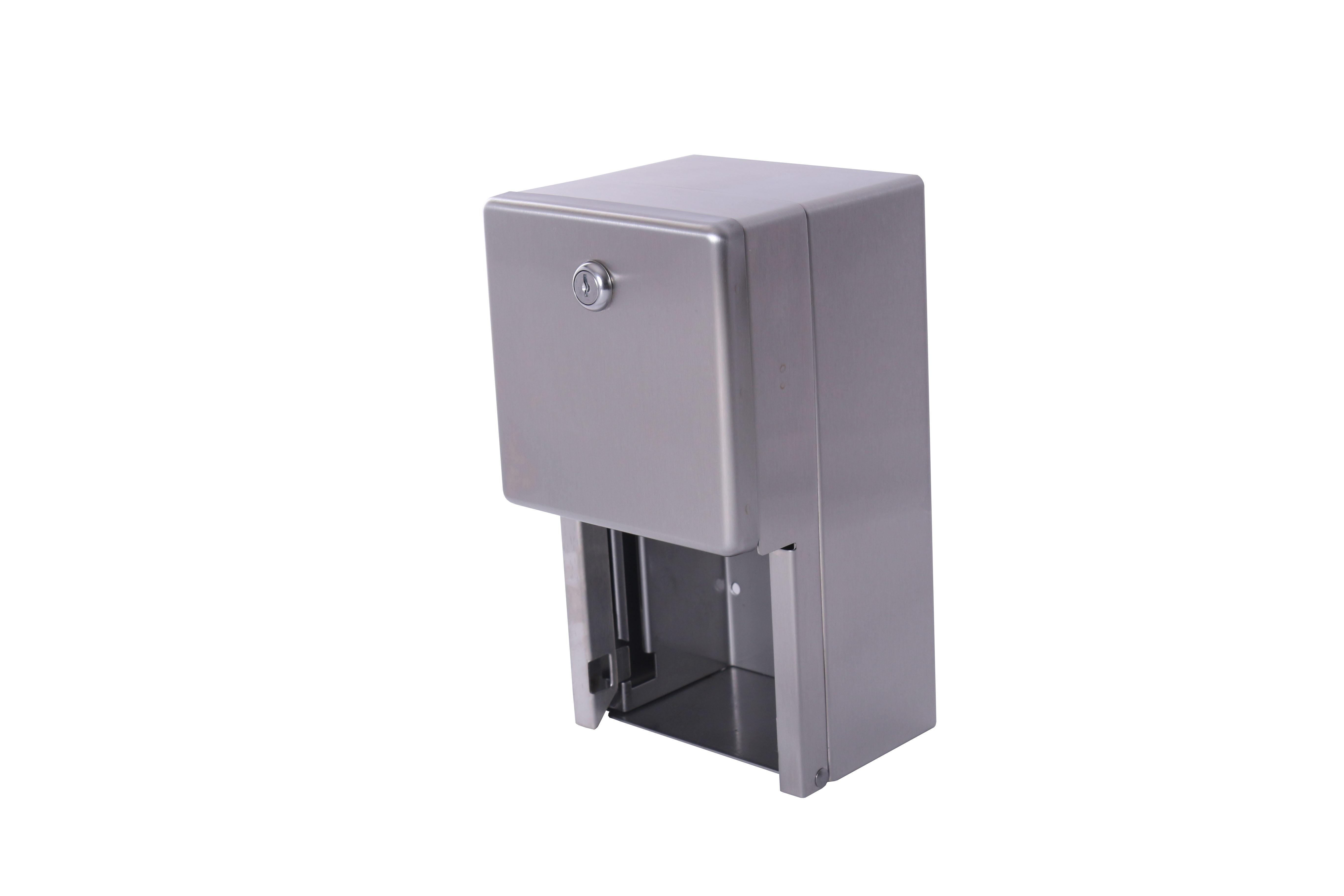 Stainless Steel Toilet Paper Dispenser Roll Tissue