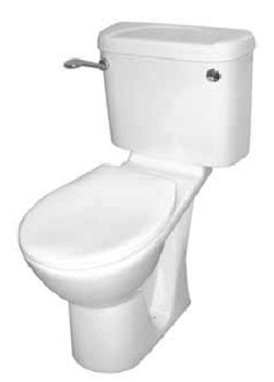 Olympus Close Coupled WC Suite with Raised Height WC Pan