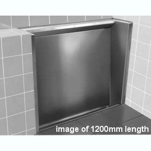 Floor Standing Urinal With Recessed Trough  1800mm
