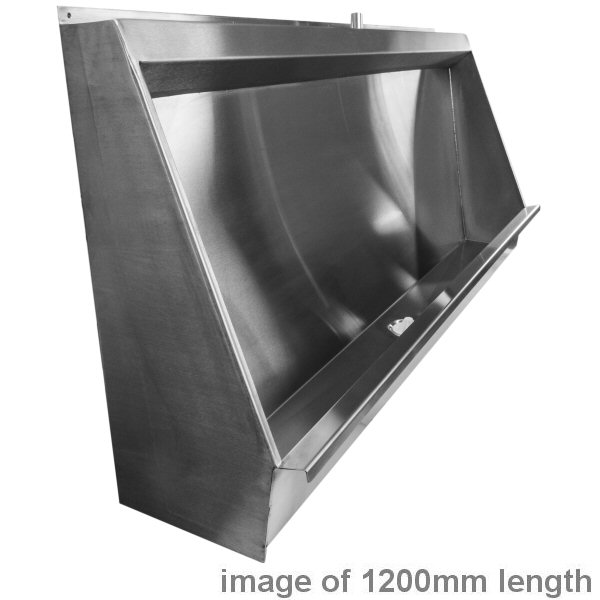Gentworks Stainless Steel Urinals Vandal Resistant Urinal