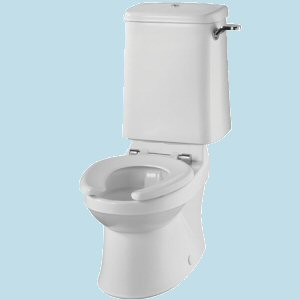 Twyford Sola School Rimless 300 WC for use with Close Coupled Cistern (SA1512)