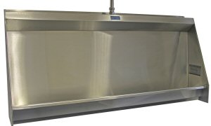 Concealed Sparge Stainless Steel Urinals