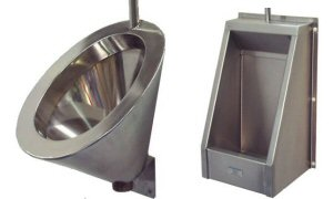 Stainless Steel Urinal Bowls